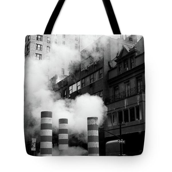 New York, Steam Tote Bag