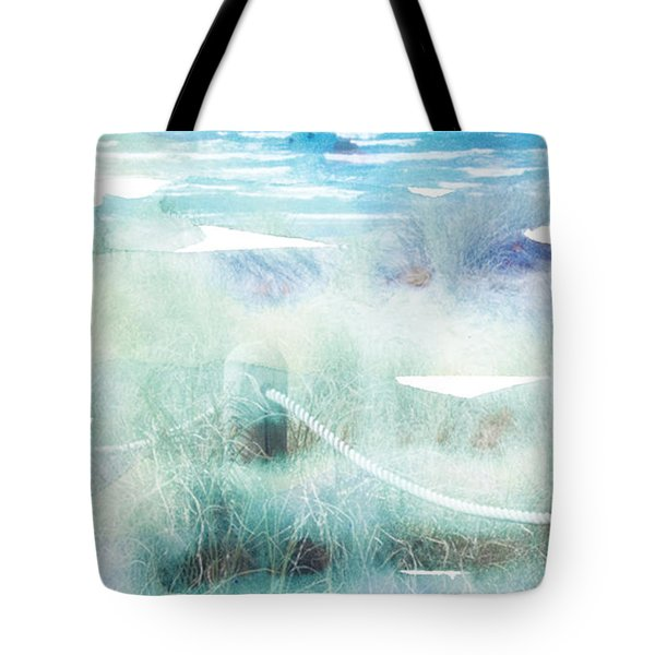 New Zealand Beachscape Tote Bag