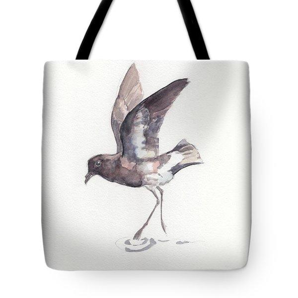 New Zealand Storm Petrel Tote Bag