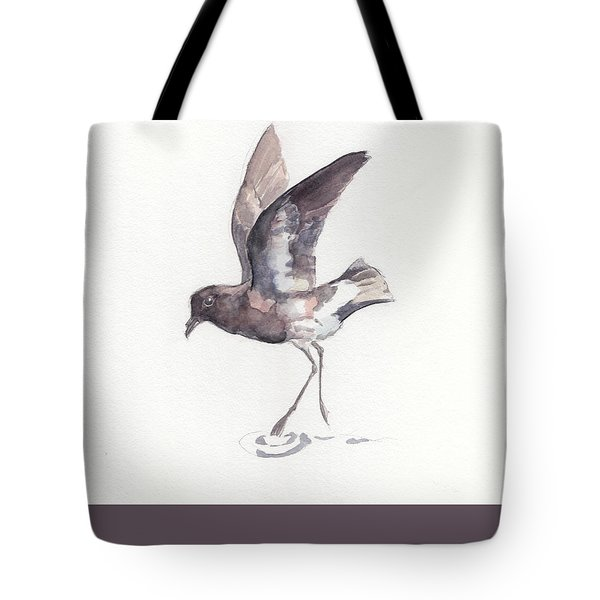 New Zealand Storm Petrel Tote Bag
