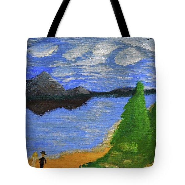 Newlywed Serenity  Tote Bag