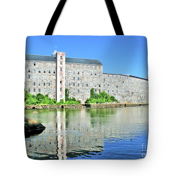 Newmarket New Hampshire Tote Bag