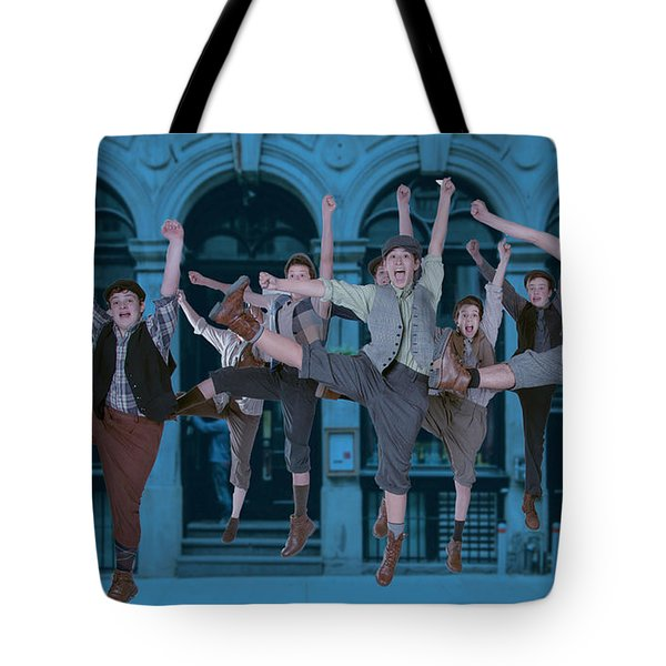 Newsies At The Artisan Center Theater Tote Bag
