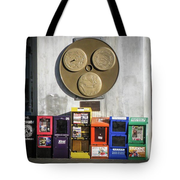 Newsstands At Gilmore Tote Bag