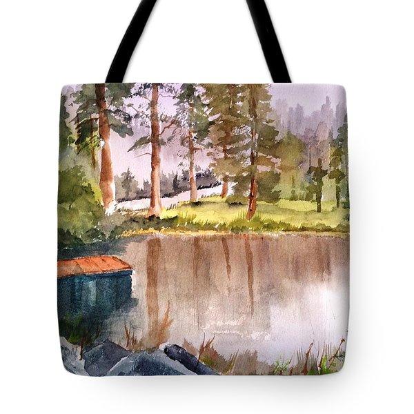 Nez Perce Lake Tote Bag
