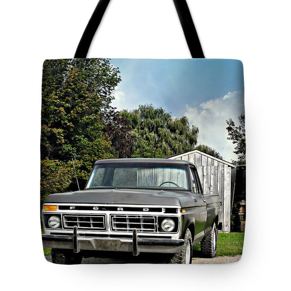 Nice Tires Tote Bag