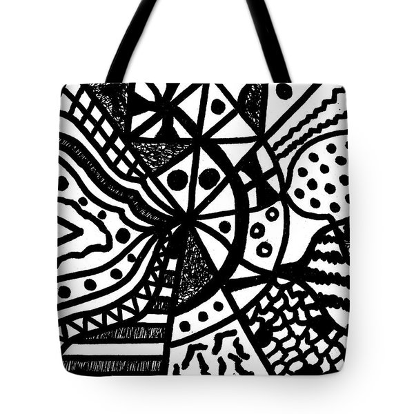 Night And Day 10 Tote Bag