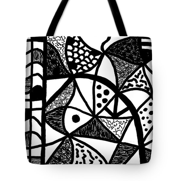 Night And Day 16 Tote Bag