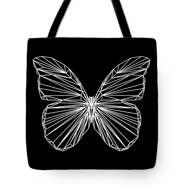 Night Batterfly Tote Bag