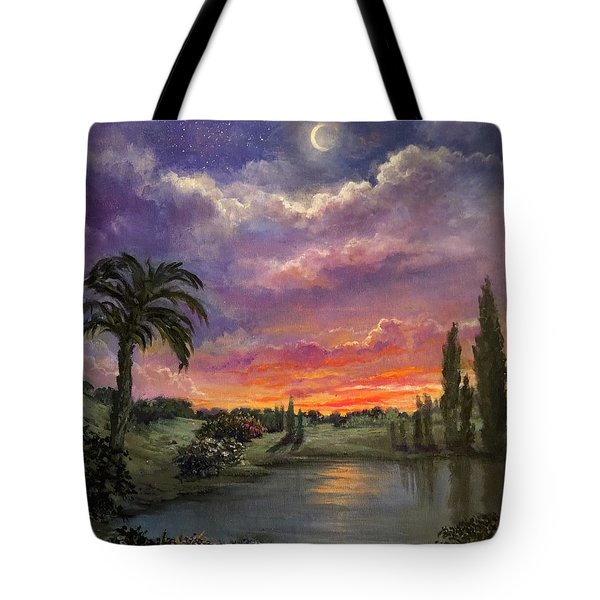 Night By Light Of Day Tote Bag