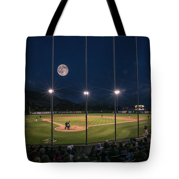 Night Game Tote Bag