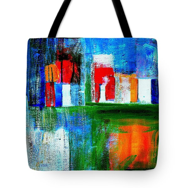 Night In The City N Y C Tote Bag