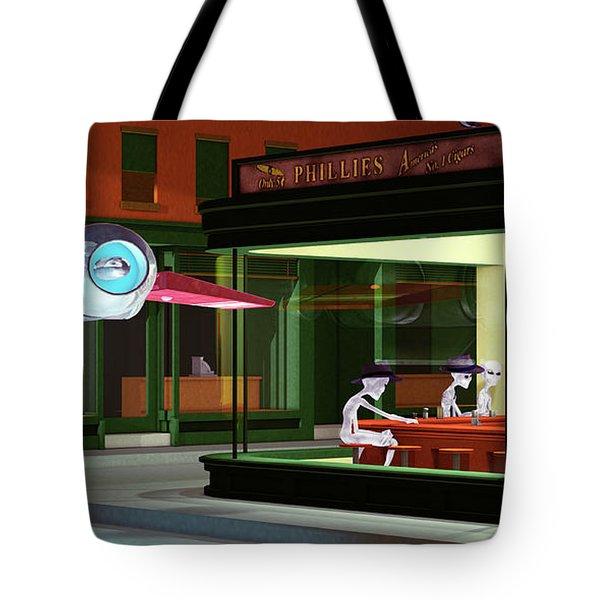 Nighthawks Invasion Tote Bag