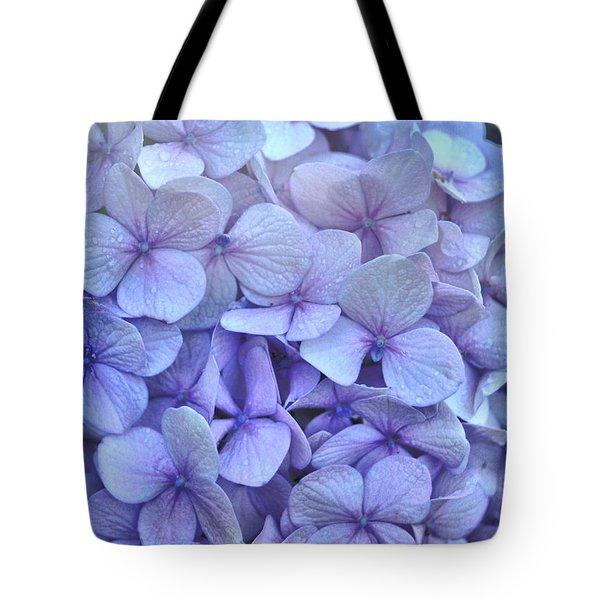 Nikko Blue Petals Tote Bag