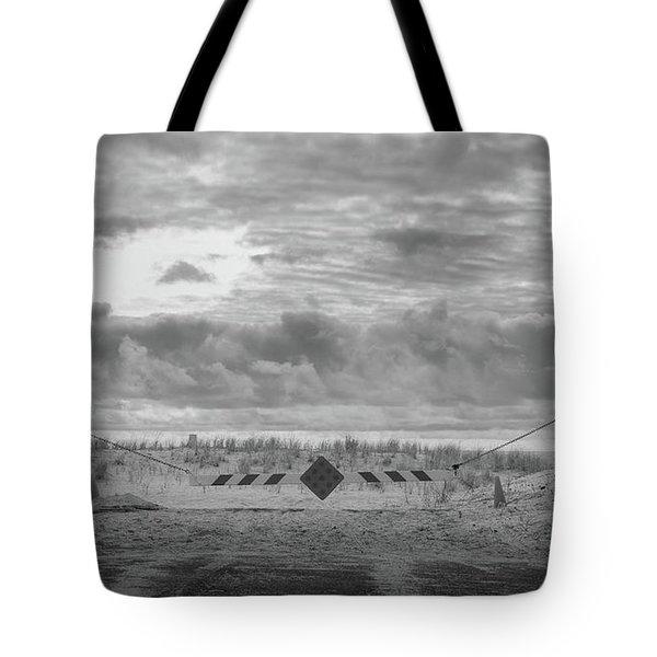 No Vehicles Tote Bag