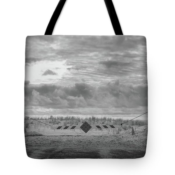 Tote Bag featuring the photograph No Vehicles by Steve Stanger
