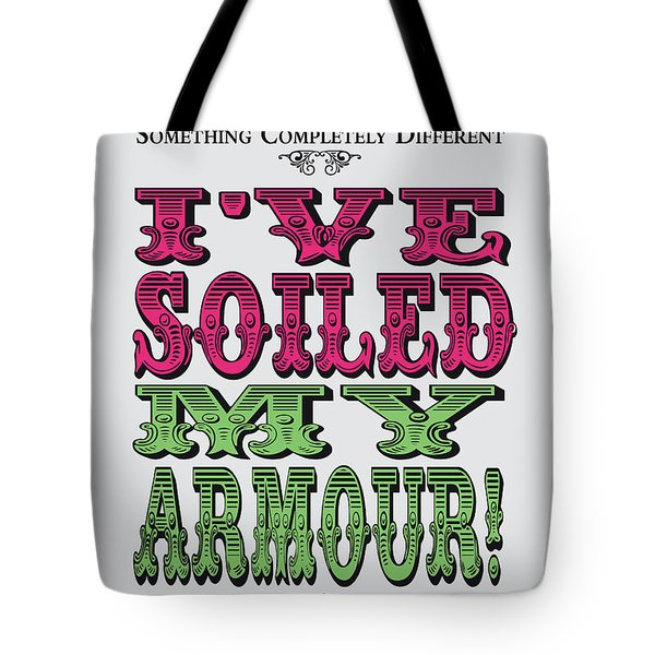 No03 My Silly Quote Poster Tote Bag