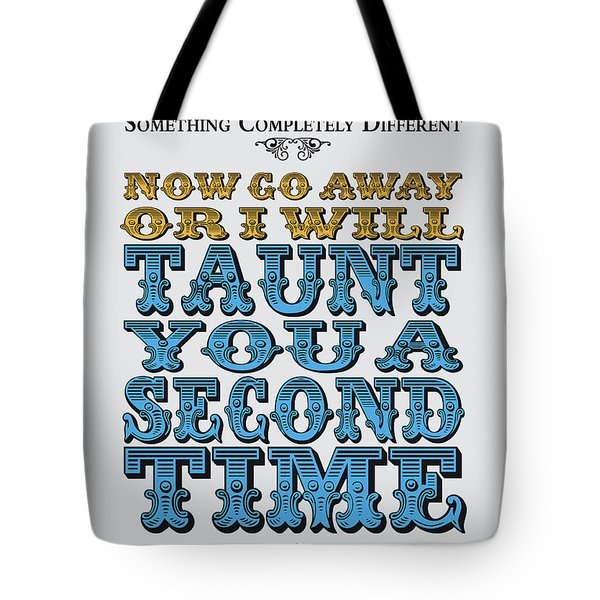 No05 My Silly Quote Poster Tote Bag