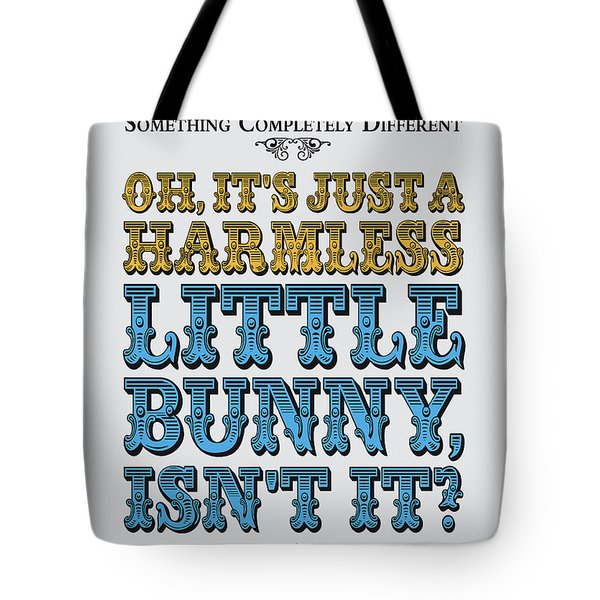 No08 My Silly Quote Poster Tote Bag