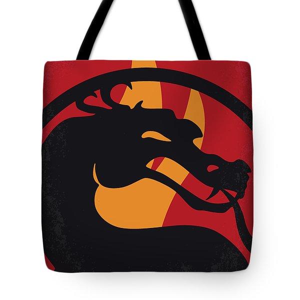 No1005 My Mortal Kombat Minimal Movie Poster Tote Bag
