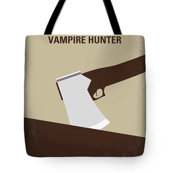 No1009 My Abraham Lincoln Vampire Hunter Minimal Movie Poster Tote Bag