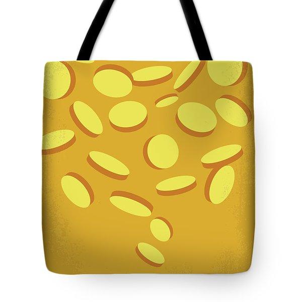 No1034 My Fools Gold Minimal Movie Poster Tote Bag
