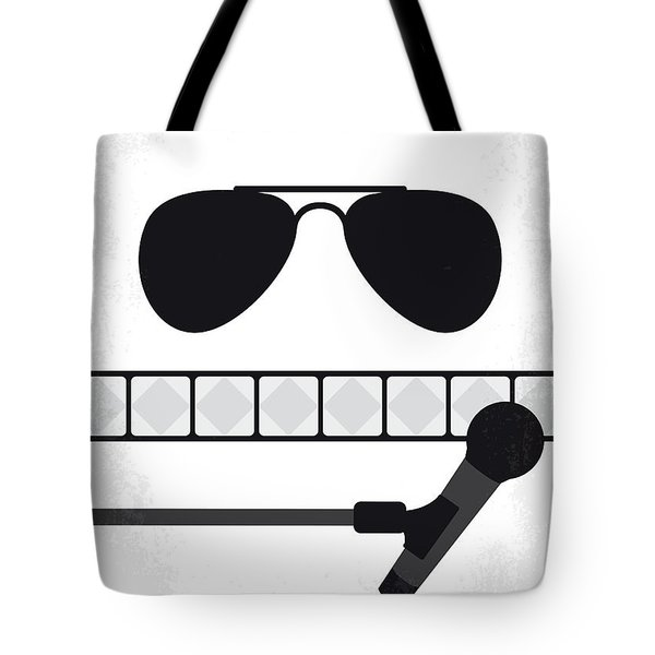No1038 My Bohemian Rhapsody Minimal Movie Poster Tote Bag