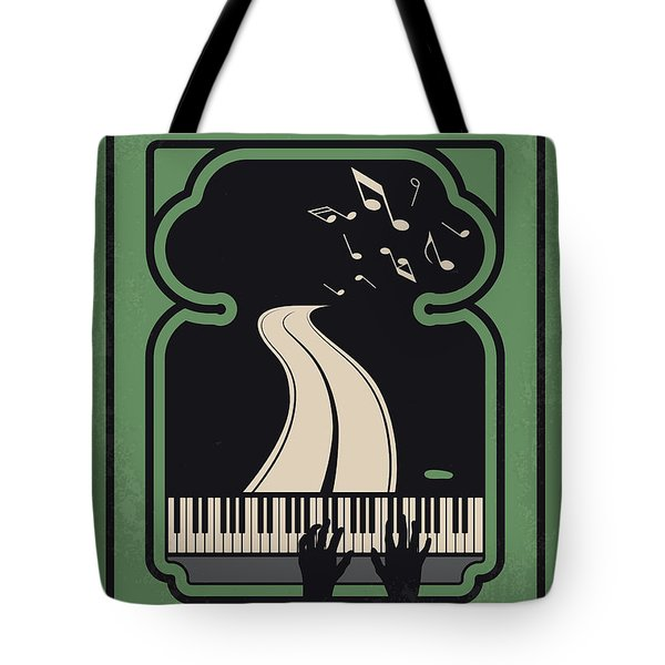 No1039 My Green Book Minimal Movie Poster Tote Bag