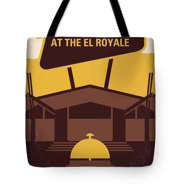 No1044 My Bad Times At The El Royale Minimal Movie Poster Tote Bag