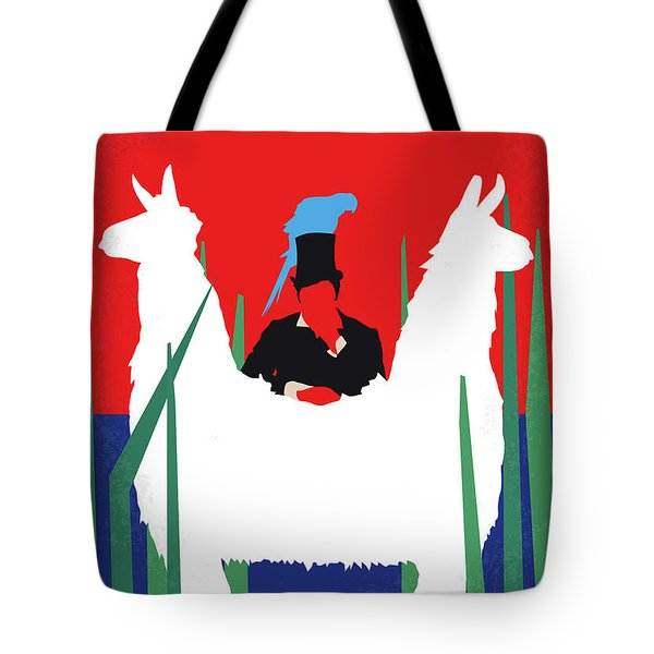 No1048 My Doctor Dolittle Minimal Movie Poster Tote Bag