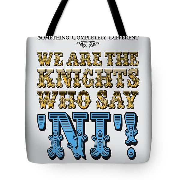 No11 My Silly Quote Poster Tote Bag