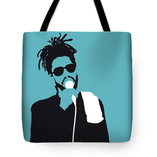 No225 My Peter Tosh Minimal Music Poster Tote Bag