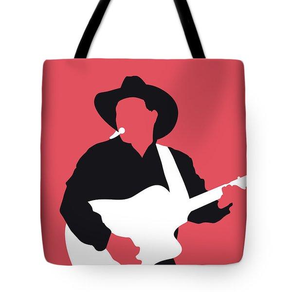 No272 My Garth Brooks Minimal Music Poster Tote Bag