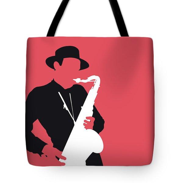 No302 My Dexter Gordon Minimal Music Poster Tote Bag