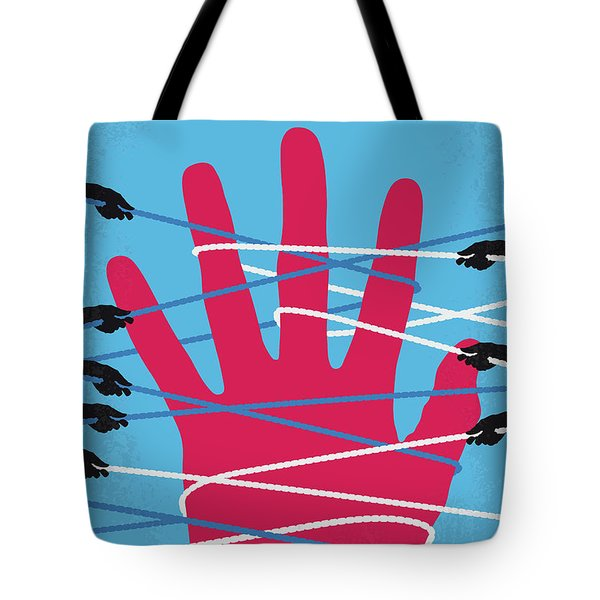 No967 My Gullivers Travels Minimal Movie Poster Tote Bag