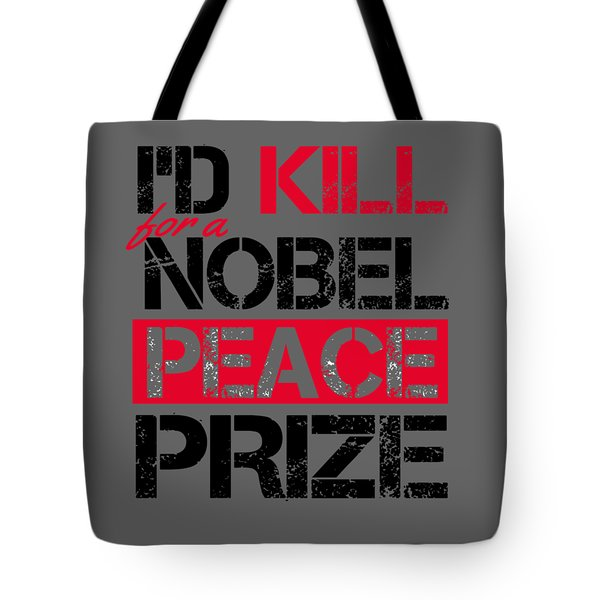 Nobel Prize Tote Bag
