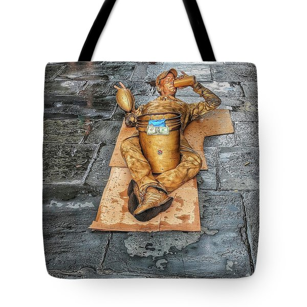 Nola Street Art Alive  Tote Bag