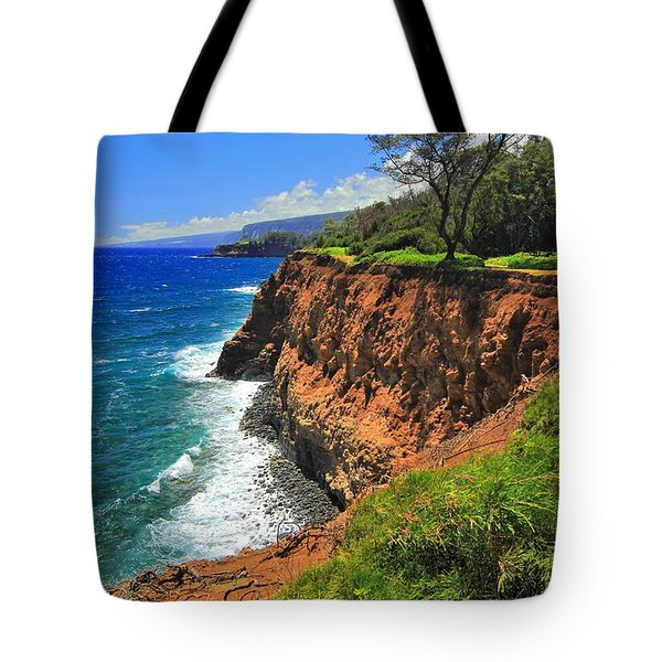 North Hawaii View Tote Bag