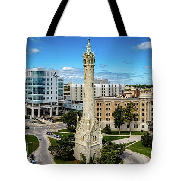 Tote Bag featuring the photograph North Point Tower by Randy Scherkenbach
