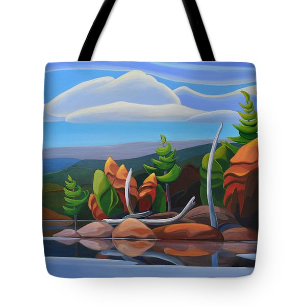 Northern Island II Tote Bag
