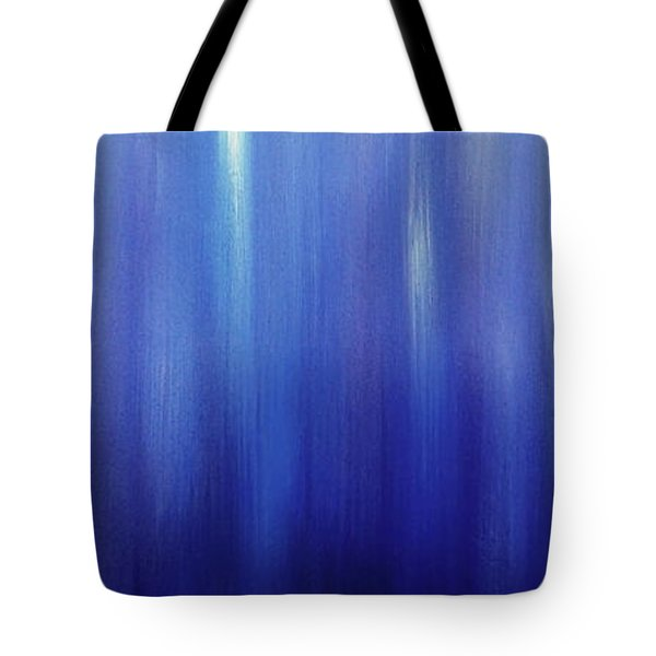 Northern Lights Oilpainting Tote Bag