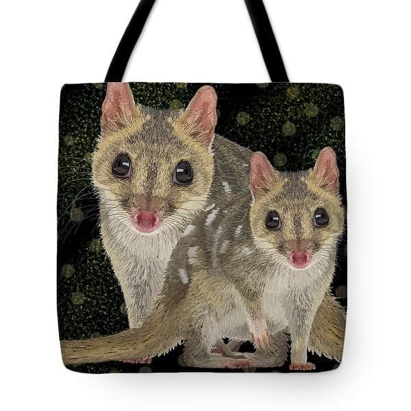 Northern Quoll 3 Tote Bag