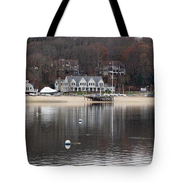 Northport Harbor Tote Bag