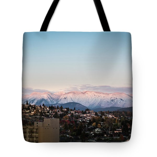 Northshore Winterscape Tote Bag