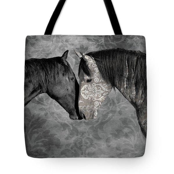 Not Always Black And White Tote Bag