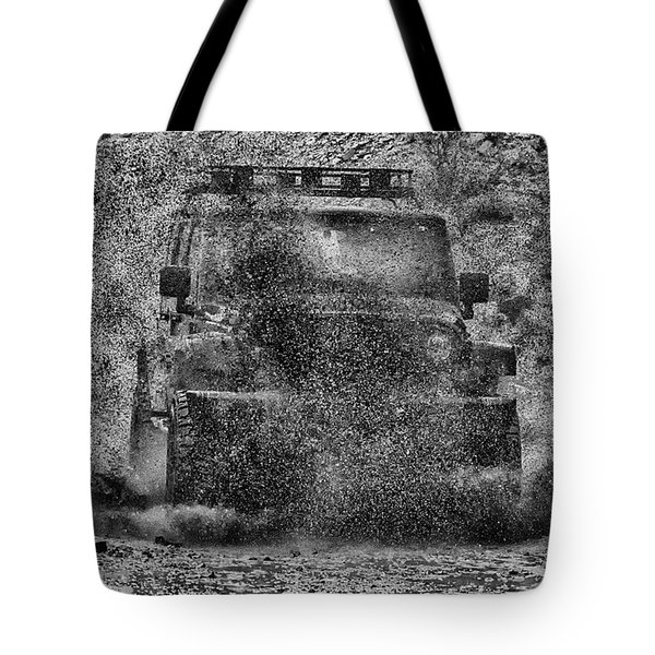 Tote Bag featuring the photograph Nothing Like A Jeep by Michael Rogers