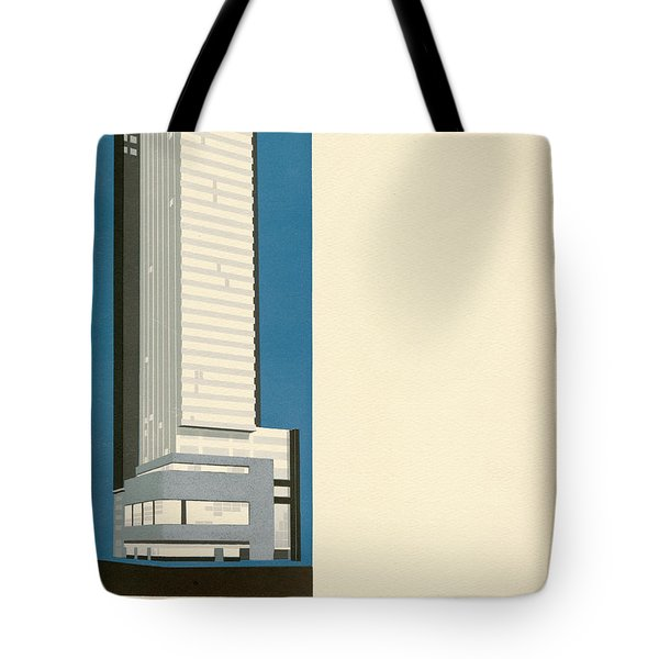 Nothing More Modern The Philadelphia Savings Fund Society Building, 1932 Tote Bag