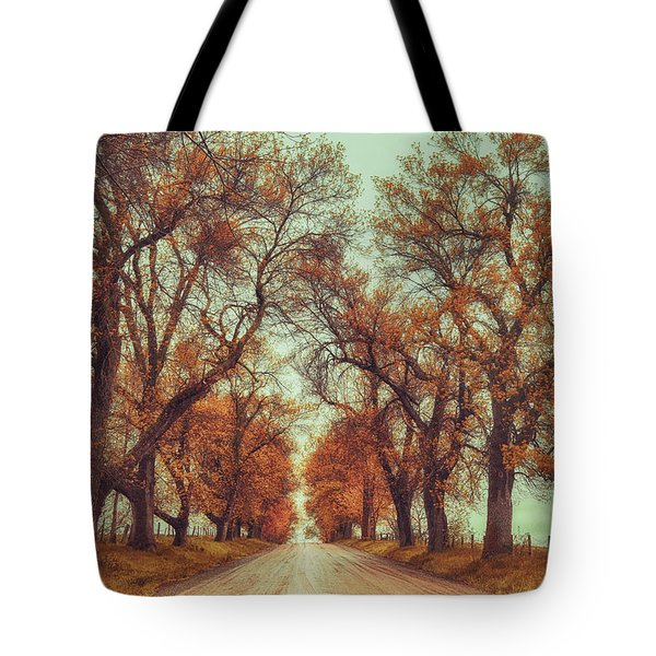 November Adventures Tote Bag