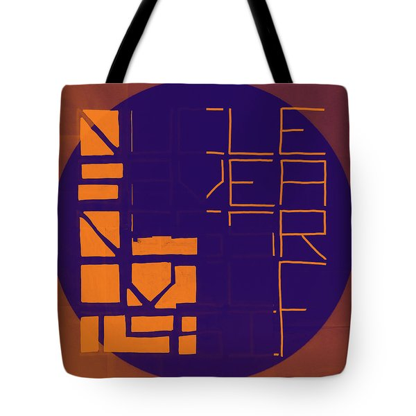One - Map Tote Bag