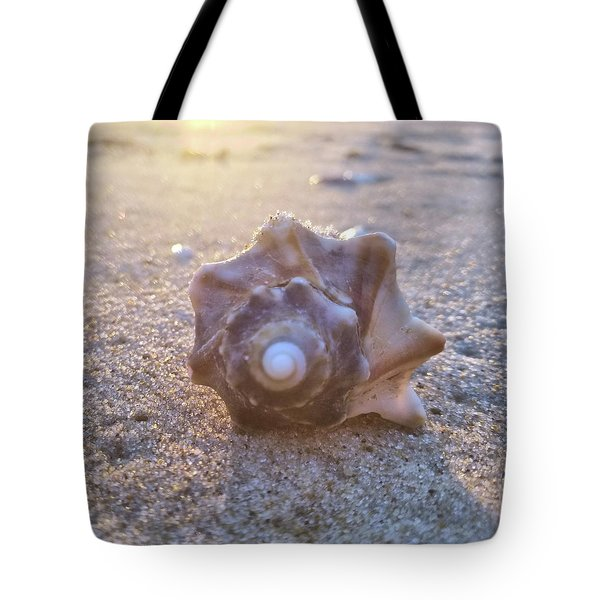 Nuclear Whorl Tote Bag